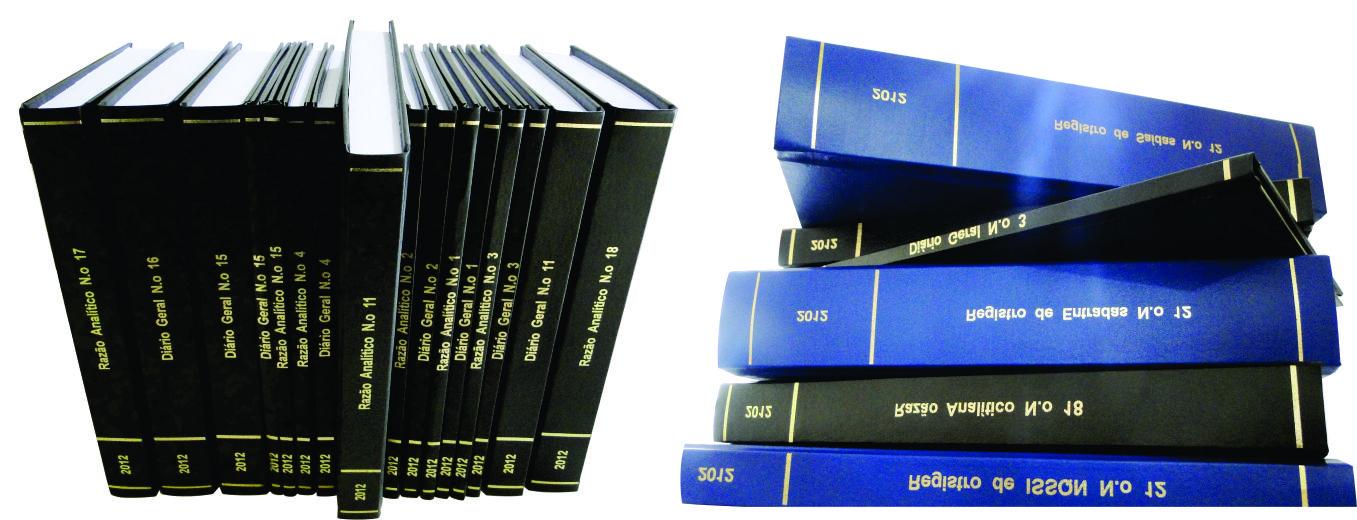 Encadernação de Livros Fiscais - Capa Dura
